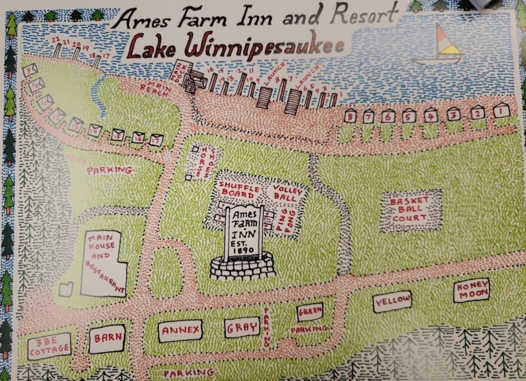 Property Map, Ames Farm Inn